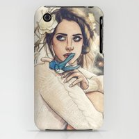 iPhone 3Gs & iPhone 3G Cases featuring LDR III by Helen Green