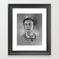 10th  Doctor Framed Art Print
