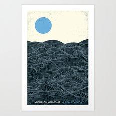 A Sea Symphony - Vaughan Williams Art Print