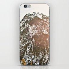 Snowy Mountain Peak in the Sun iPhone & iPod Skin