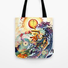 Japan Earthquake 11-03-2011 Tote Bag