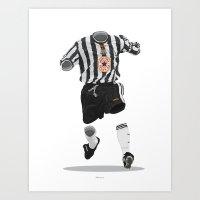 Newcastle United 1997-19… Art Print