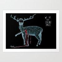 Vivimos En Un Peligro Co… Art Print