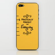 iPhone & iPod Skin featuring Practically Perfect In E… by Studiomarshallarts