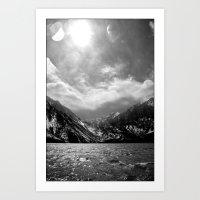 Convict Lake, CA Art Print