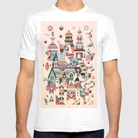 Structura 5 Mens Fitted Tee White SMALL