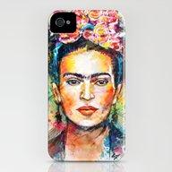 Frida Kahlo iPhone (4, 4s) Slim Case