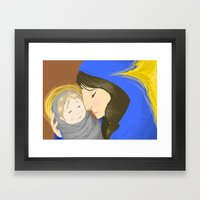 Mother Mary  Framed Art Print