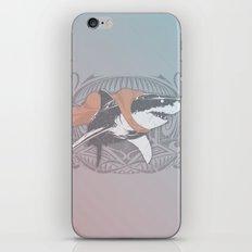 Fearless Creature: Whitey iPhone & iPod Skin