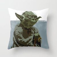 There Is No Try. Throw Pillow