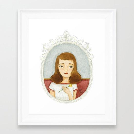 Esther Greenwood Framed Art Print