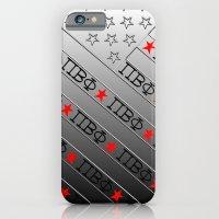 Pi Beta Phi (ΠΒΦ), stars & stripes iPhone 6 Slim Case