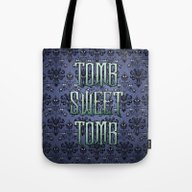 Haunted Mansion - Tomb S… Tote Bag