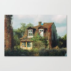 COTTAGE Canvas Print