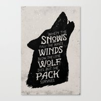 The Pack Survives Canvas Print