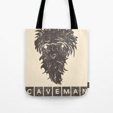 Caveman Tote Bag