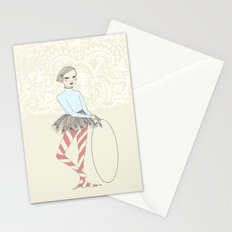 Harlequin Girl Stationery Cards