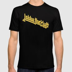 Jabba Rolla Black Mens Fitted Tee SMALL