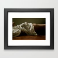 Breathe (Color) Framed Art Print