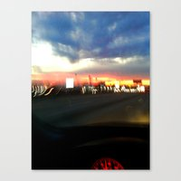 710 Lights Canvas Print