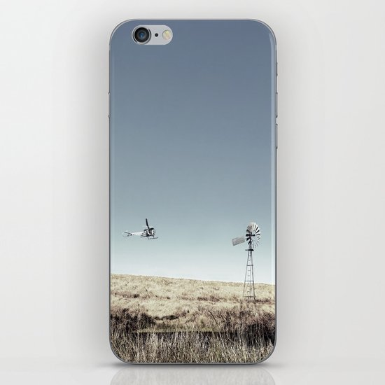 Dustoff downunder - Villenvue, QLD iPhone & iPod Skin