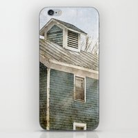 Blue House iPhone & iPod Skin
