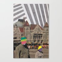 travel weary Canvas Print