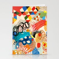 Wallpaper and Diamonds Part I Stationery Cards