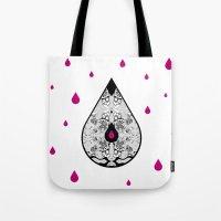 Drop Tote Bag