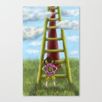 The Slide Canvas Print