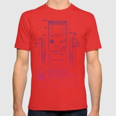 Game Kid Mens Fitted Tee Red SMALL