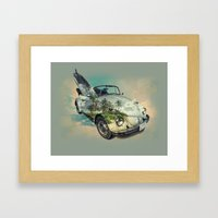 i want to be free 2 Framed Art Print