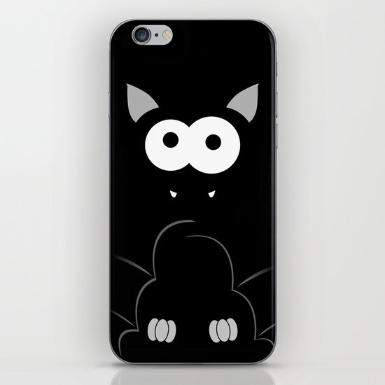 Minimal Bat iPhone & iPod Skin