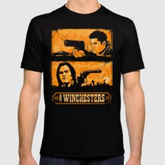 The Winchesters Mens Fitted Tee SMALL Black
