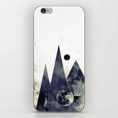 Wandering star iPhone & iPod Skin