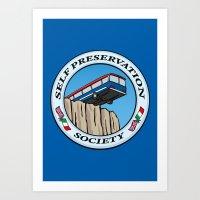 Self Preservation Societ… Art Print