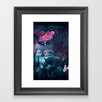 grotto Framed Art Print