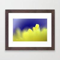 Yellow Petal 314 Framed Art Print