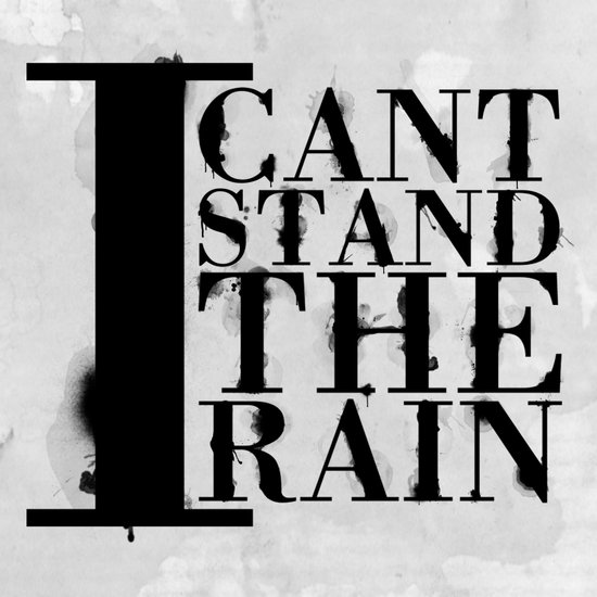 I cant Stand the Rain Canvas Print