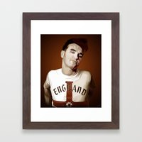 The Smiths singer Framed Art Print