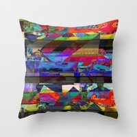 Flying By Throw Pillow