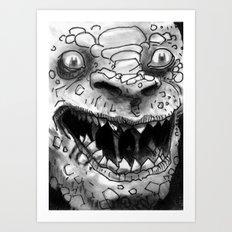 Rogues Gallery - Killer Croc Art Print
