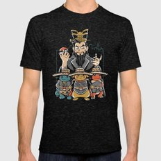 Big Trouble In Little Ka… Mens Fitted Tee Tri-Black SMALL