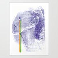 Lacryma Color 3 Art Print