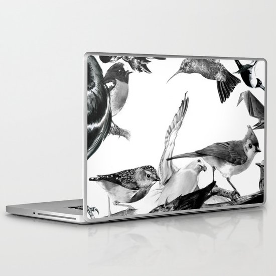A Volery of Birds Laptop & iPad Skin