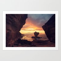 Thunder Cove Art Print