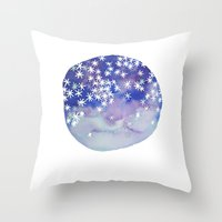 Stars In Your Eyes Throw Pillow