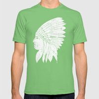 Chief / White Edition Mens Fitted Tee Grass SMALL