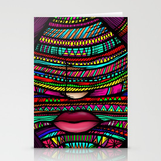 Colorful Roots (Color Version) Stationery Card