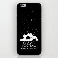 COSMIC FOOTBALL by ISHISHA PROJECT iPhone & iPod Skin